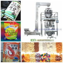 Beans Vertical Granule Packaging Machine (CB-5240 with 10head Weigher)