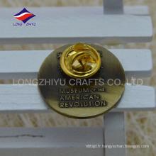 Estampage métal USA souvenir papillon unique cadeau badge