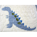 2 PCS Cotton Bedding Embroidery Baby (Kids) Quilt