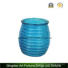 Pot de verre pour décoration extérieure et jardin