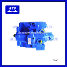 excavator hydraulic machine spares parts main pump for hyundai R80-7