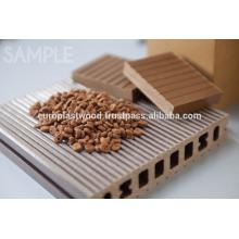 Plástico de grano de madera compuesto - productos ecológicos