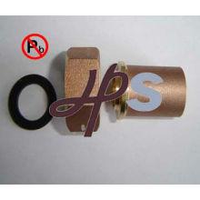 Cojinete de agua forjado sin plomo cola NSF-61 material estándar