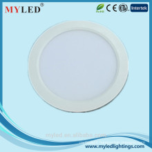 New Design Round and Square 24w led panel light, 8inch LED Panel Light IP44