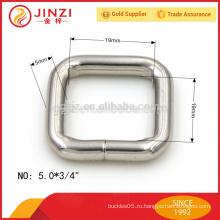 Прямоугольная пряжка шириной 19 мм, фурнитура из квадратного железа для сумок