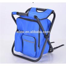 mochila cadeira dobrável cooler