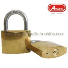 Golden überzogen oder verchromt Eisen Vorhängeschloss (305)