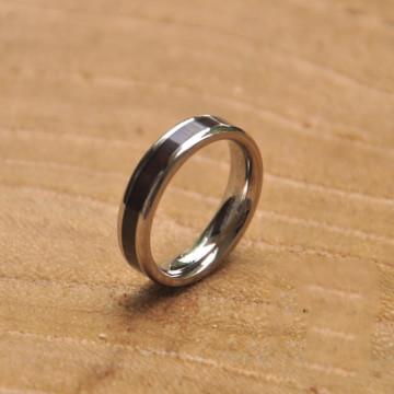 Bague en titane à la mode pour hommes Bagues de mariage personnalisées