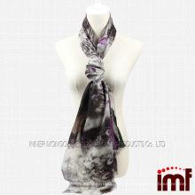 Novo moda atacado cachecol xale pavão