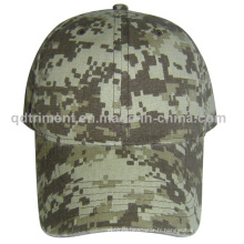 Casque de baseball de loisirs en toile de coton de camouflage populaire (TMB03947)