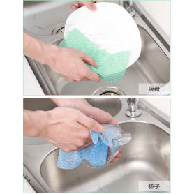 Mesh Spunlace Nonwoven Fabric Wipes