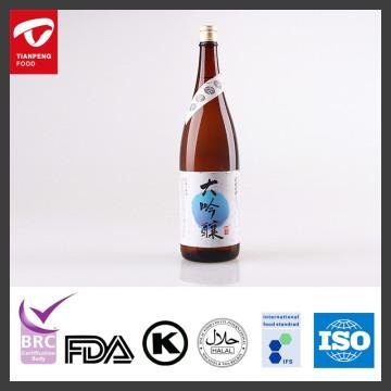 Japanischer Daiginjo Sake Wein mit 1.8L, 750ML, 360ML / Flasche