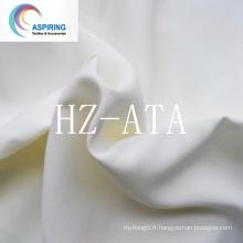Tissu Minimatt de couleur blanche