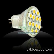 LED Light Bulb MR16 12*5050SMD GU10 LED Light with Aluminum Housing