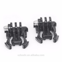 2pcs Quick Release Buckle Basic Mount Flat Buckle Base Helmet Chest Strap Mount Adapter for GoPro HD Hero 6 5 4 3 2 1 3+ Camera