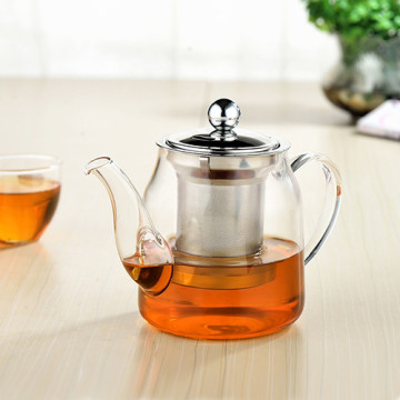 ChaoZhou stainless steel Glass teapot tea strainer
