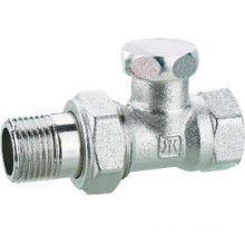 J3011 chrome plated brass stop valve