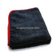 Printed 800gsm Microfiber Car Clean Wash Towel