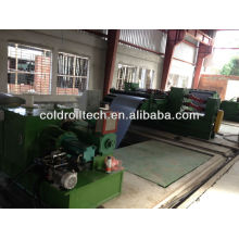 Línea de corte longitudinal de acero al silicio de alta calidad