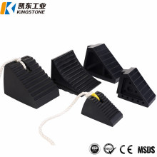Excellent Quality Rubber Wheel Chock with Rope