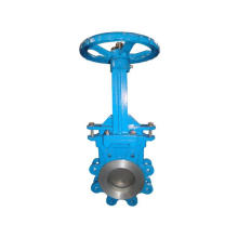 Wafer Knife Stainless Steel Worm Gear Gate Valve