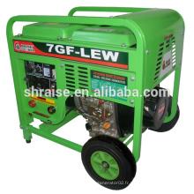 Ensemble de générateur de soudage diesel 7GF-LEW à vendre