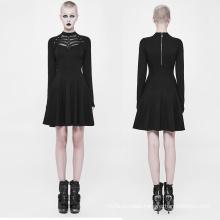 Halloween design dresses long sleeve Plus Size club dress design