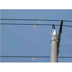 overhead line fault level indicator