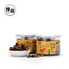 Low fat dried mushroom chips shiitake chips