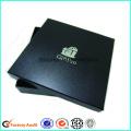 Benutzerdefinierte gedruckt Logo schwarzes Hemd Verpackung Box