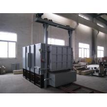 All fiber bogie hearth resistance annealing furnace