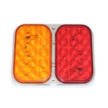 Luz de la cola de la combinación del LED de E-MARK, lámparas impermeables del 100%, base del cromo, IP67