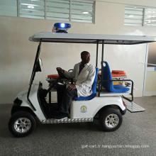 Rescue voiturette de golf pour l'hôpital