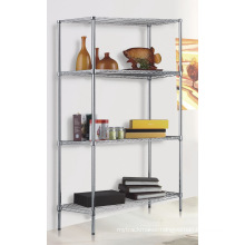 Chrome Metal Display Office Wire Shelving (LD12045180A4C)