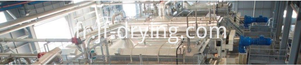 201811 hollow paddle dryer machine