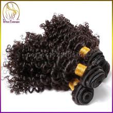 sites de venda online 100 virgem mongol kinky curly tecer cabelo emaranhado livre
