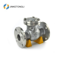 JKTLPC092 back pressure carbon steel flanged hydraulic check valve