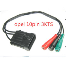 für Opel 10pin-Banane (OPEL 3KTS) OBD-Stecker