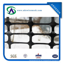 Cerca plástica da neve da segurança do preto de 4′x100 ′