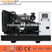 Grupo electrógeno diesel abierto de 30KW Motor Quanchai