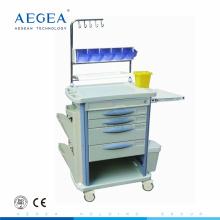 AG-NT004B3 Operationssaal Ausrüstung Notfall abs medizinische dental trolley