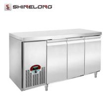 Réfrigérateurs professionnels sous le comptoir en acier inoxydable de luxe