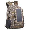 Bolsa de mochila solar impermeable de camuflaje