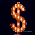Custom Metal Illuminated Marquee Letters Business Sign