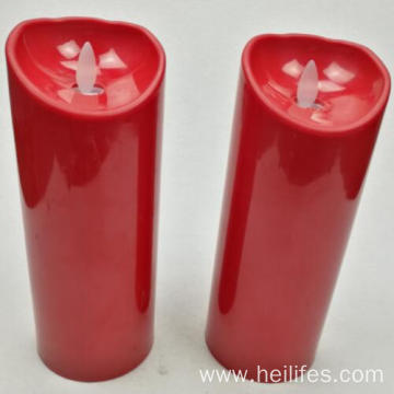 Red Candle for Decorations LED Light