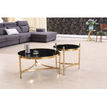 Hot Sale Modern Glass Board Corner Table