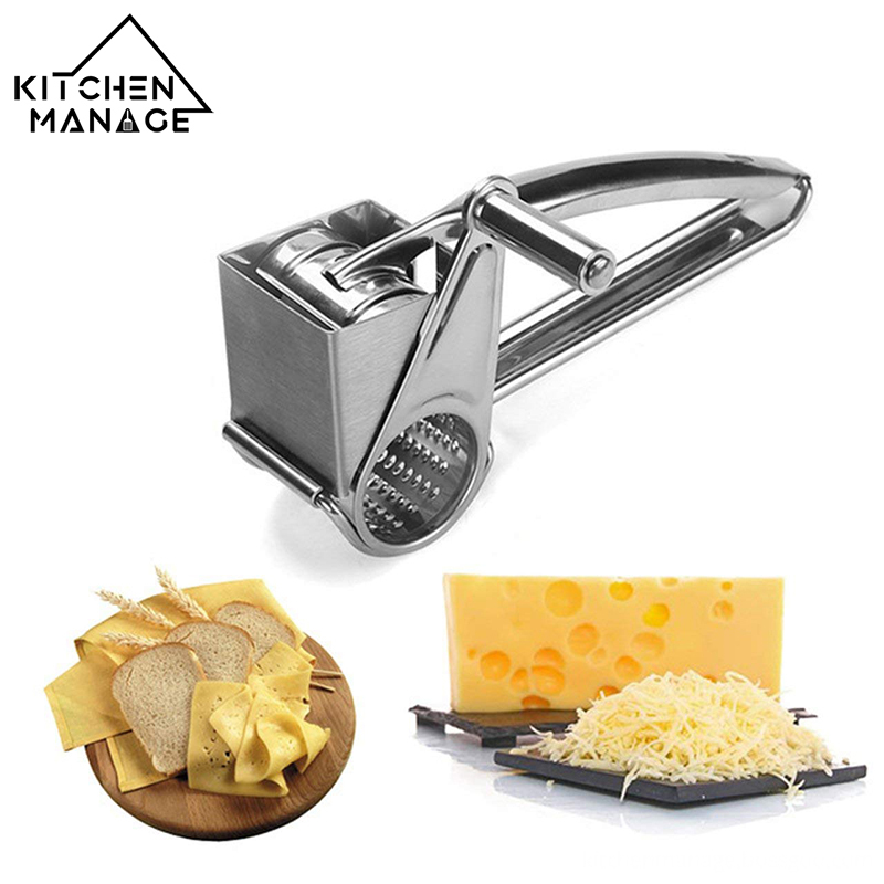 Hand Cranked Cheese Grater View