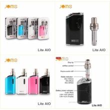 2016 cigarro eletrônico Vape Mods caixa Mod Jomo 20/30/40W Vape Aio Lite 1300mAh Ecig Starter Kit