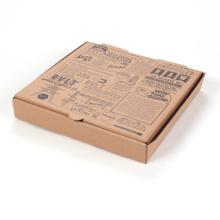 Caja de pizza de materiales ecológicos personalizados con mango