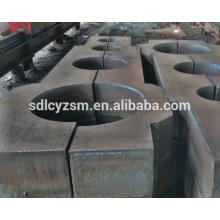 CNC-Plasmaschneiden Stahlplatte
